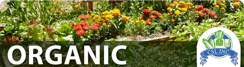 Organic & Sustainable Gardening Programs | Crop Services ...