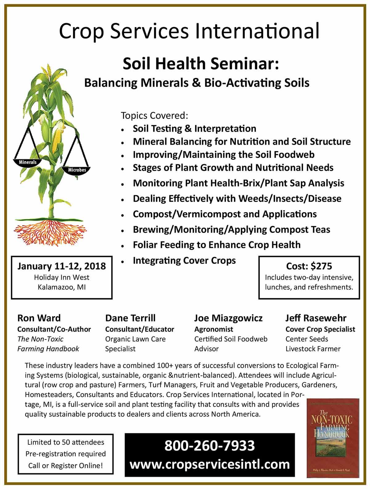 Soil Health Seminar 2018