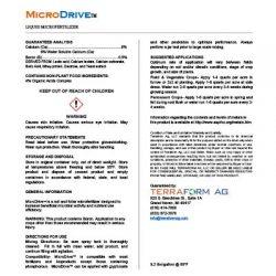 MicroDrive CalAcid