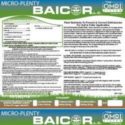 micro-plenty label